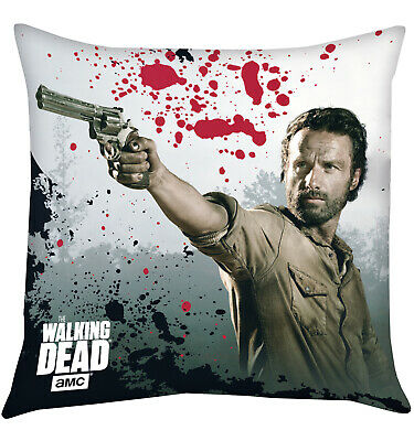 The Walking Dead Kissen Rick Grimes, 40x40cm (NEU)