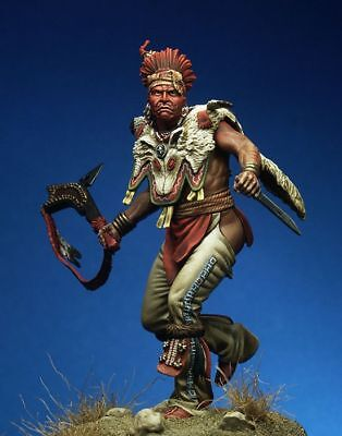 Tin Soldier, Museum, Fox Warrior, Indians, Meskwaki, Native Americans, USA, 75mm