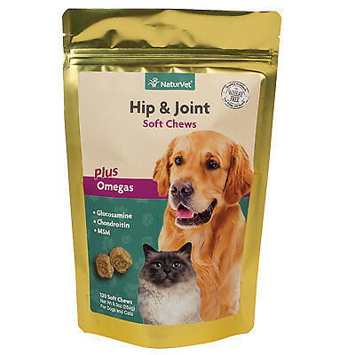 Dog Treats, Hip & Joint Soft Chews, 120 Ct., American Distribution, 03580