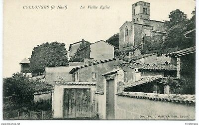 CPA-Carte postale-FRANCE - Collonges - La Veille Eglise (CPV1211)