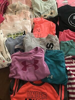 Under Armour, North face, Nike, GAP lot of little girls clothes size 5 and 6!!!