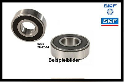 Vespa SKF 6204 Lager 20-47-14 Kugellager Hauptwelle Antriebswelle PX 80 125 200