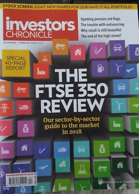 The FTSE 350 Review, Investors Chronicle, 26 January - 1 February 2018