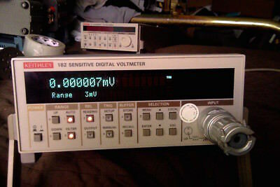 Keithley 182 Nanovoltmeter with input cable