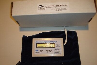 X-10 Powerline Signal Analyzer Monterey Instruments