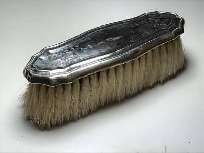 Antique English Sterling Silver Clothing Brush