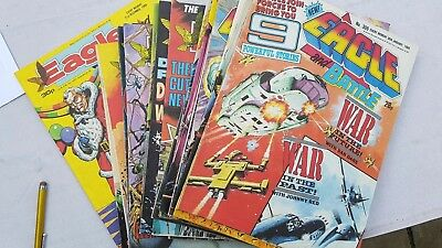the new eagle and Battle comic 1988 40 issues! job lot