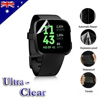 Ultra Clear Screen Protector Film Guard For Fitbit Versa /Lite & Fitbit Ionic