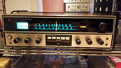 Kenwood KR-4140 vintage stereo receiver full working test complete worldw. ship