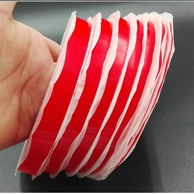 Transparent Double Sided Sticky Adhesive Tape Red Film 3M 25M Cell Phone Repair