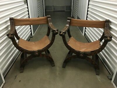 Gothic Chairs/SteamPunk Hand carved!!