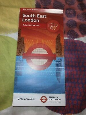 LONDON TRANSPORT South East London Bus Map September 2010 100