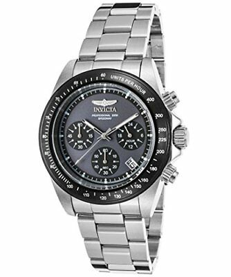 Invicta 23123 Men's Speedway Chronograph Stainless Steel Grey Dial Watch