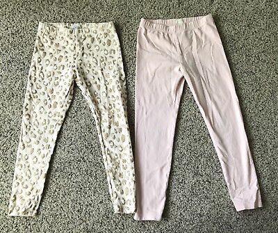 Pair Of Crewcuts Leggings Size 6/7, EUC