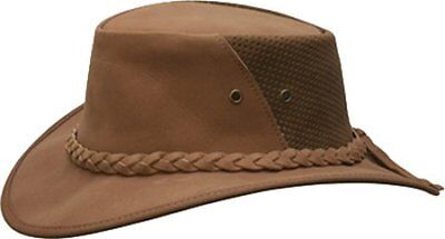 b905bc9b93f NEW CONNER CRUSHABLE Water Proof LEATHER Outback Western Cowboy Hat ...