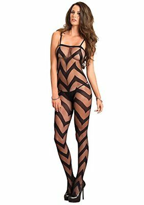 (TG. Taglia unica) nero Leg Avenue Combinaison alternativa Noir Taille Unique