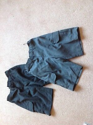 Two Pairs Of Boys School Shorts Age 6-7