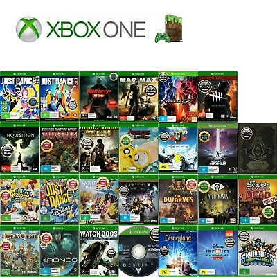 💚 Microsoft XBOX ONE ●ҩ ASSORTED GAME TITLES - Complete ҩ● Your Choice 20/04/18