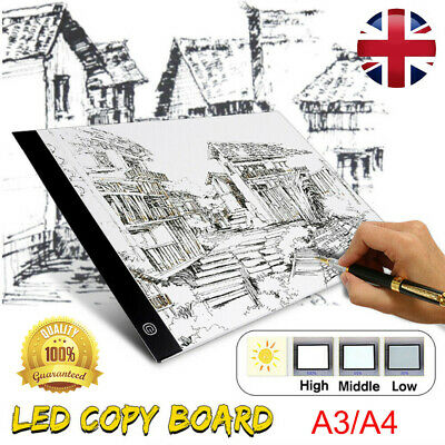 A3 LED Ultra Slim Art Craft Drawing Copy Tracing Tattoo Light Box Pad Board
