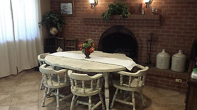 Antique Vintage Dining room table with 6 chairs