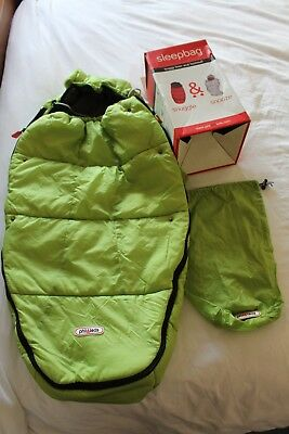 Phil and Teds Apple Green Foot muff/ cosy toes