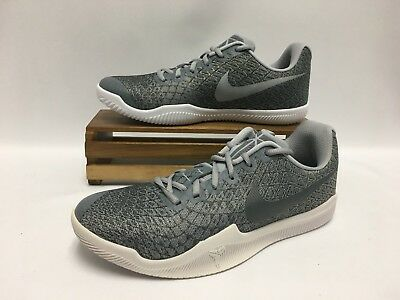 f6c20b29f4e2 Nike Kobe Mamba Instinct Basketball Shoes Gray Silver White 852473-002  Men s NEW