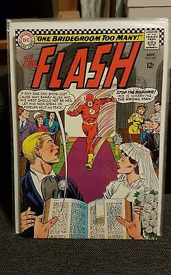 The Flash 165 Barry Allen weds Iris FN+