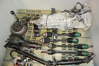 JDM Subaru Impreza Wrx STi DCCD 6speed Awd Transmission Differential Diff V8 GDB
