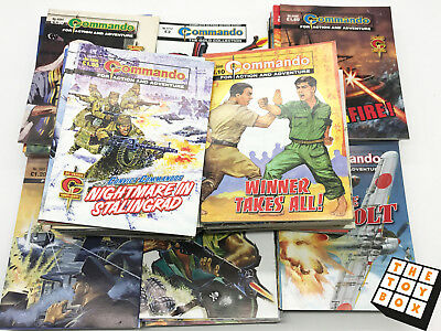 Commando Magazines Huge Job Lot Collection 100 Comics (4)