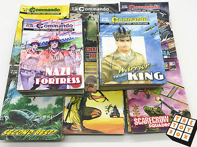 Commando Magazines Huge Job Lot Collection 100 Comics (5)