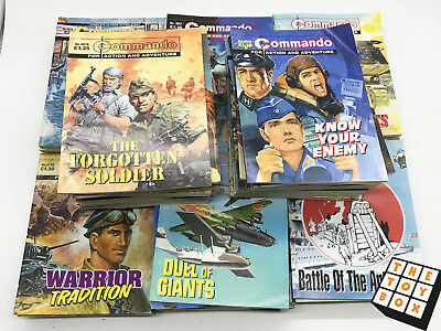 Commando Magazines Huge Job Lot Collection 100 Comics (6)