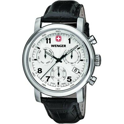 WENGER Swiss Army Men's Urban Classic Chronograph 43mm Watch, 01.1043.105