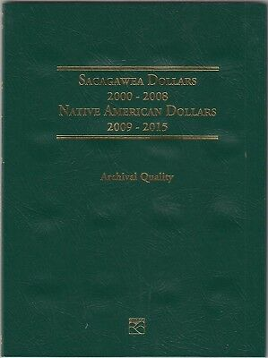 Littleton Coin Collecting Folder For US Sacagawea Dollars 2000-2015 LCF37 New