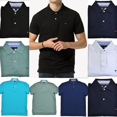 Tommy Hilfiger Short Sleeve Men's Polo T-shirts