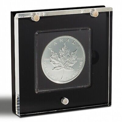 1 Coin Display Box Case AIRBOX Lighthouse Stand For Square 2x2 Quadrum Holder