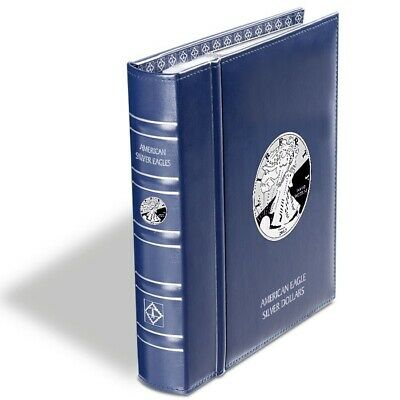 New Album for American Silver Eagles Coin Collection ASE By Lighthouse VISTA