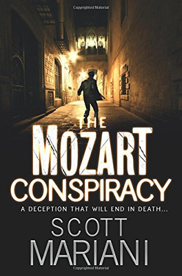 The Mozart Conspiracy (Ben Hope Book 2) by Scott Mariani New Paperback Book