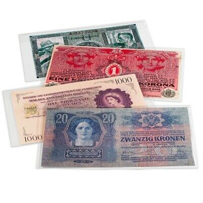 Museum High Grade Premium Currency Polyester 10 Sleeves Fr Medium Modern Notes