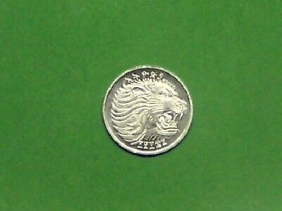Ethiopia   Ee1969  1 Cent  Km43.1  Uncirculated Coin