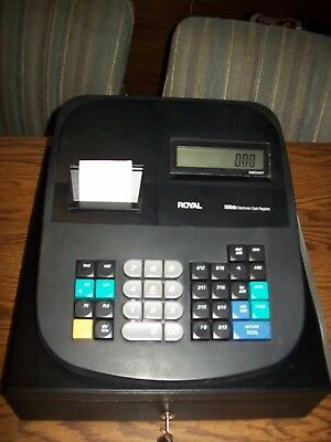 Royal 500DX Electronic Cash Register Preowned