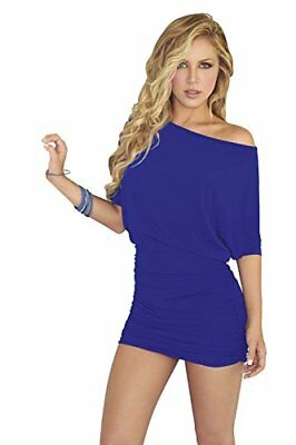 (TG. M)  AM PM In Espiral Dress Colore Blu Taglia M