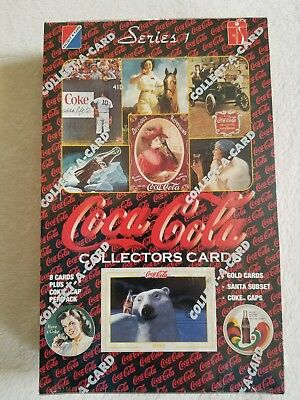 Lot of 2 Collect-A-Card Coca Cola 1993 Collection Series Unopened SEALED Box(es)