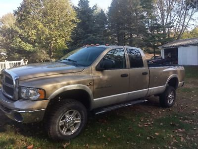 2003 Dodge Ram 2500 SLT 2003 Dodge Ram  Quad Cab SLT 5.9 Diesel 4x4 2500 8ft box