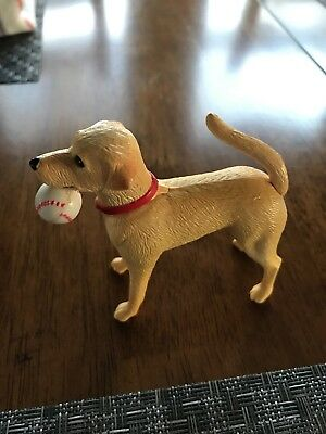 Grand Champions Show Champions Dog Playset Yellow Labrador Lab w Baseball Empire