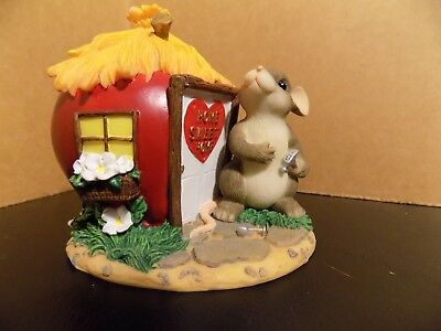 Fitz and Floyd Charming Tails Mice Figurine Home Is Where The Heart Is 89/126