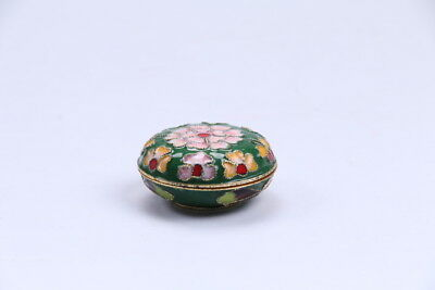 Exquisite Chinese paintings flowers porcelain jewelry boxes bb62