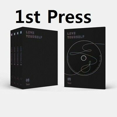 BTS[Love Yourself'Tear']3rd Album Random CD+PhotoBook+Card+PreOrder+Gift+Trackin