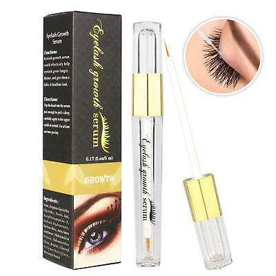 Pop Eyelash Enhancer Eye Lash Rapid Growth Serum Liquid 100% Natural 3ML-5ML New
