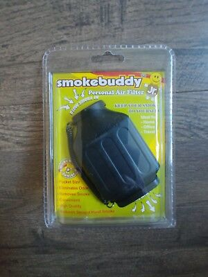 Smoke Buddy Jr Personal Air Purifier Odor Cleaner Filter Black
