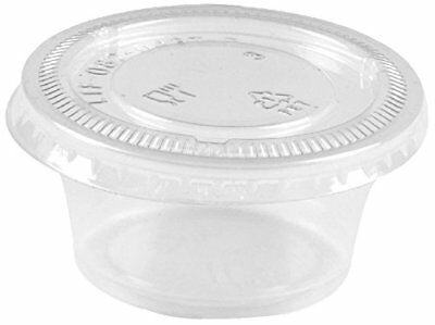 Springpack Slime Containers 2oz - sets of 200 - Plastic Cups with Plastic Lids